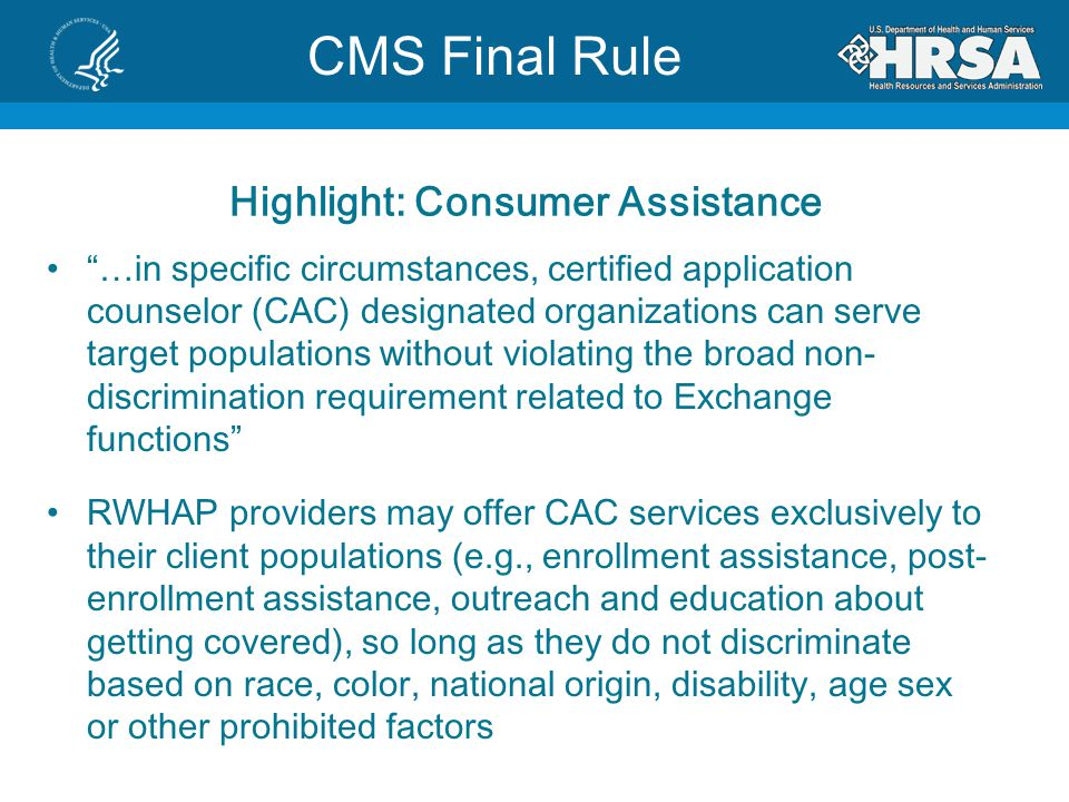 Highlight: Consumer Assistance