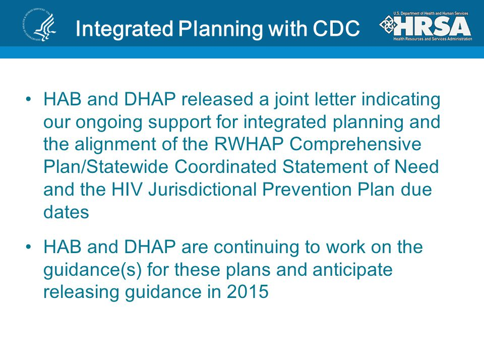 Integrated Planning with CDC