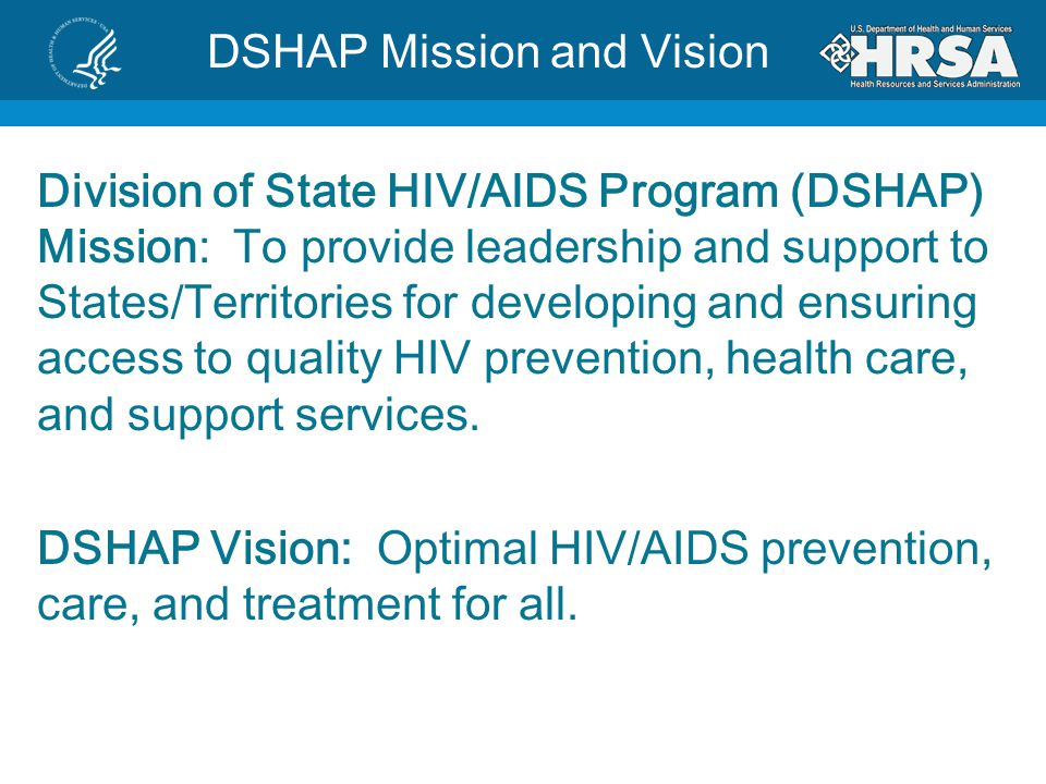 DSHAP Mission and Vision