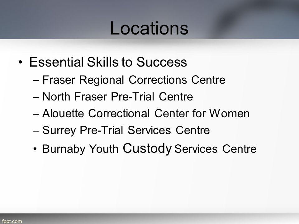 Locations Essential Skills to Success