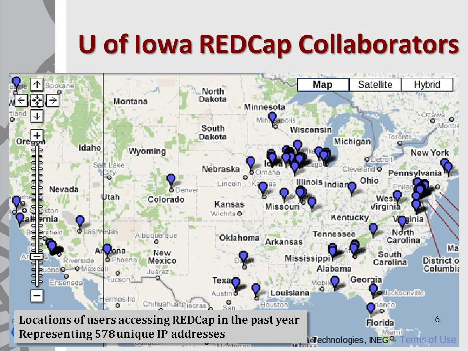 U of Iowa REDCap Collaborators