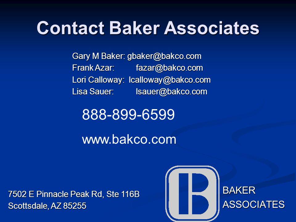 Contact Baker Associates