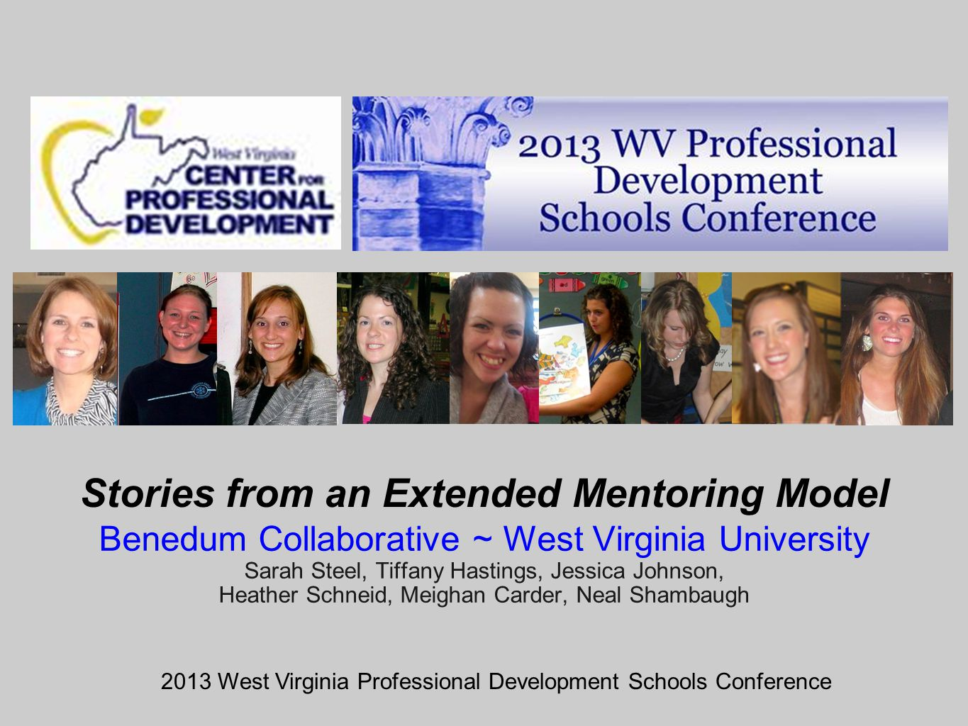 Stories from an Extended Mentoring Model