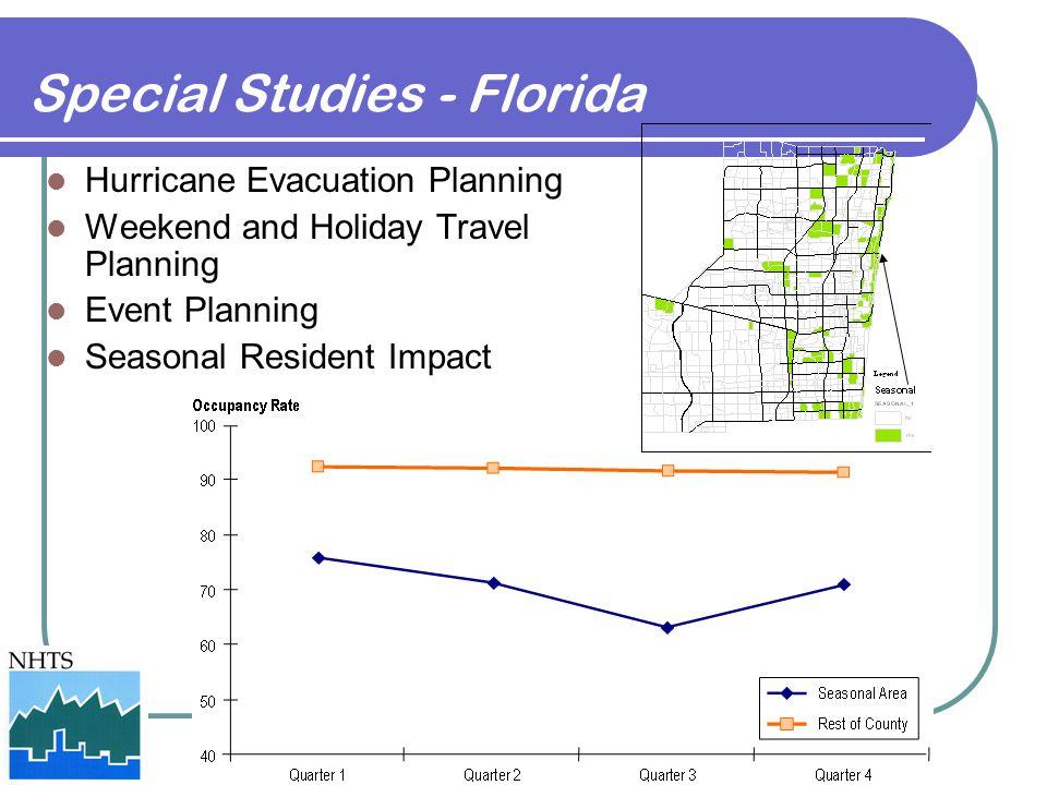 Special Studies - Florida