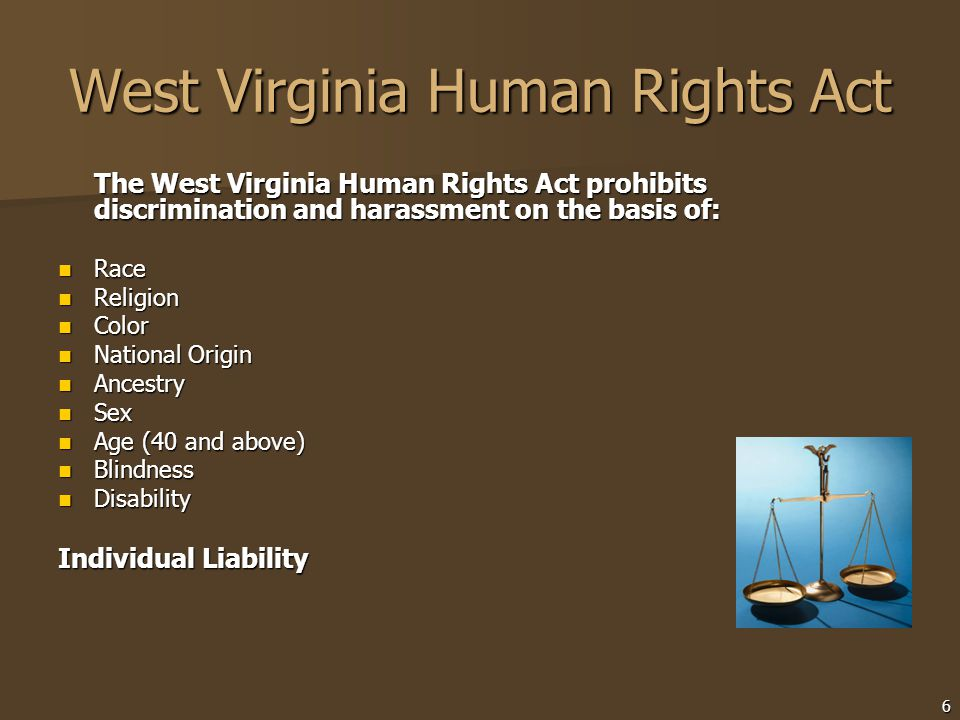 West Virginia Human Rights Act