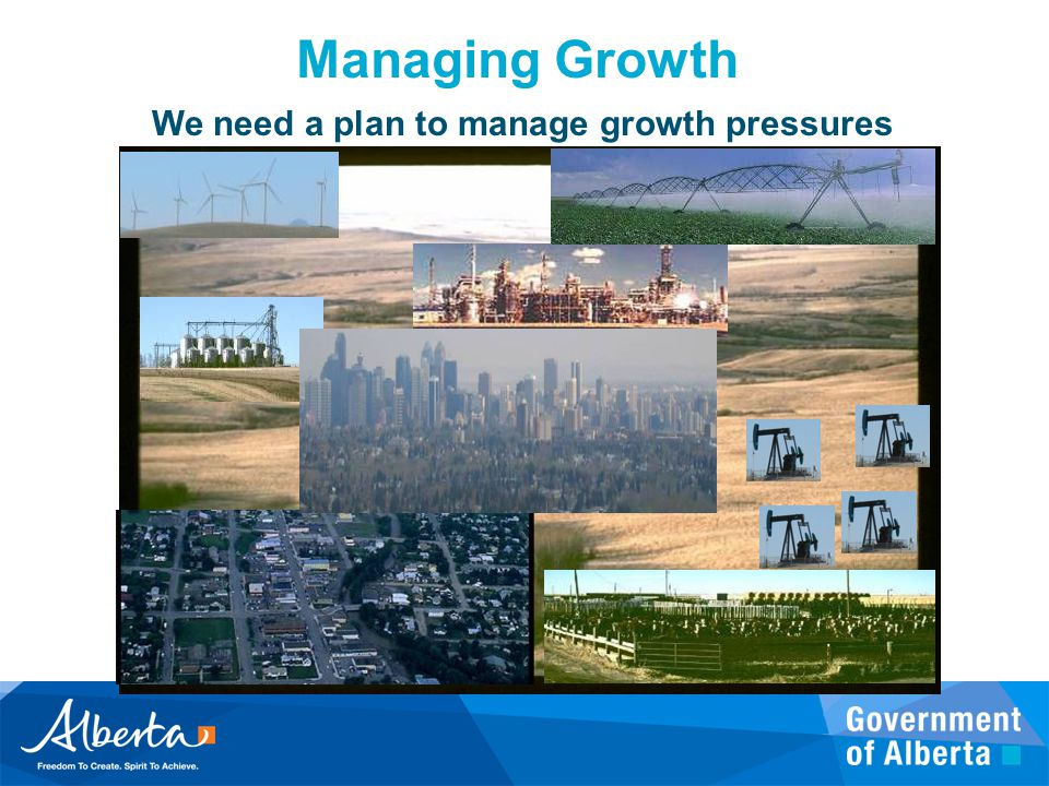 We need a plan to manage growth pressures