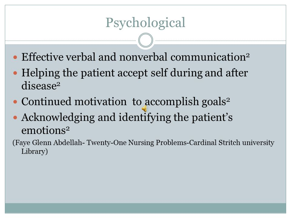 Psychological Effective verbal and nonverbal communication2