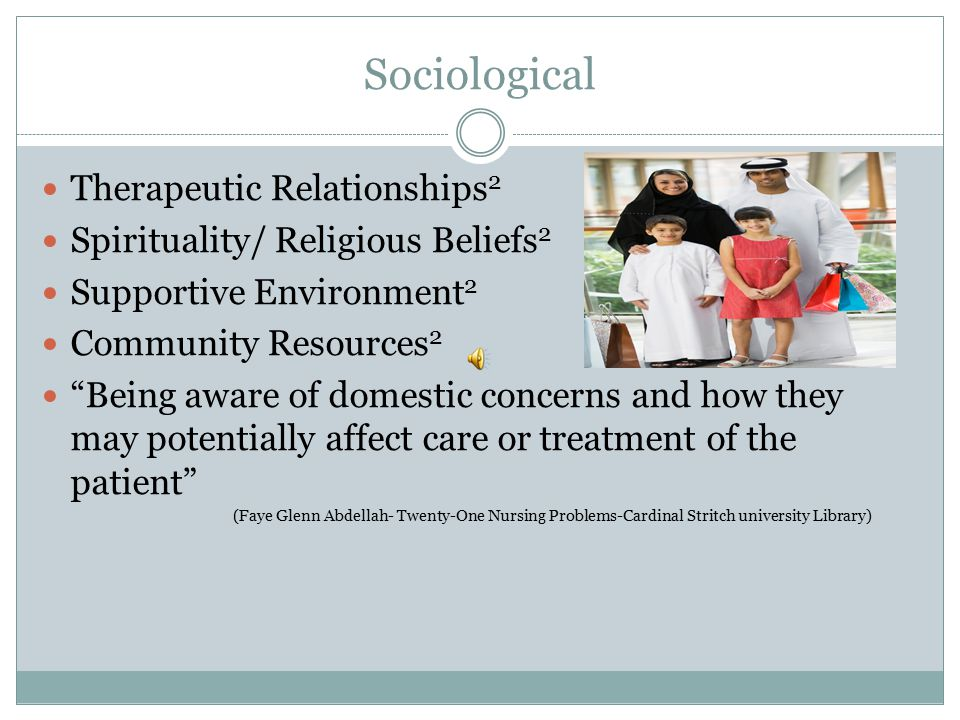 Sociological Therapeutic Relationships2