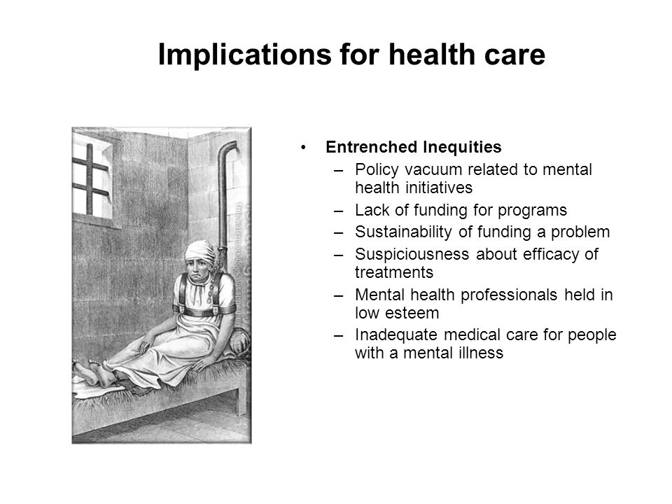 Implications for health care
