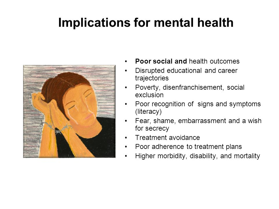Implications for mental health
