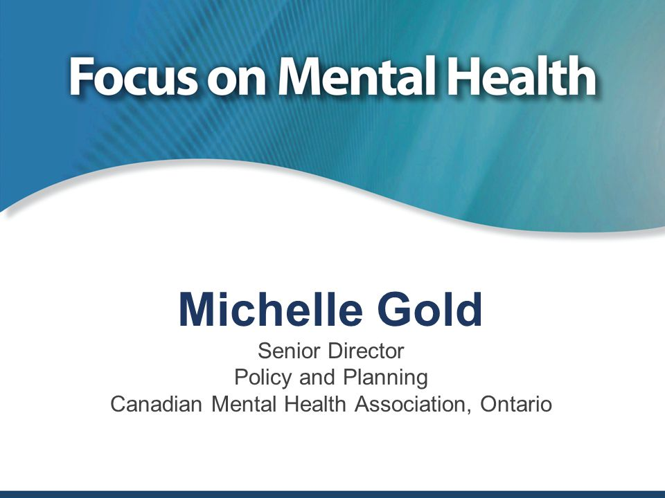 Canadian Mental Health Association, Ontario