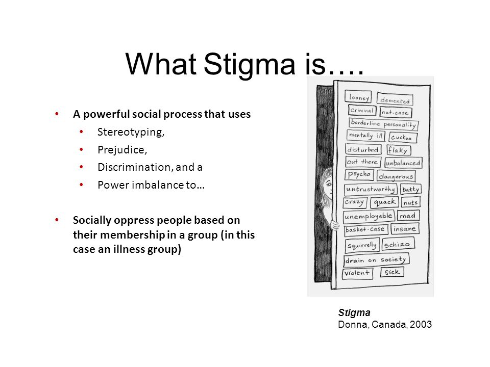 What Stigma is…. A powerful social process that uses Stereotyping,