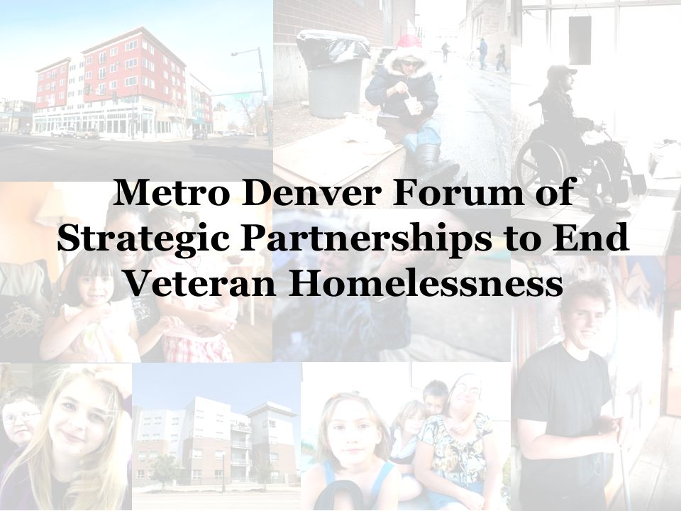 Strategic Partnerships to End Veteran Homelessness