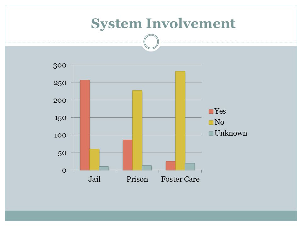 System Involvement Katie will review