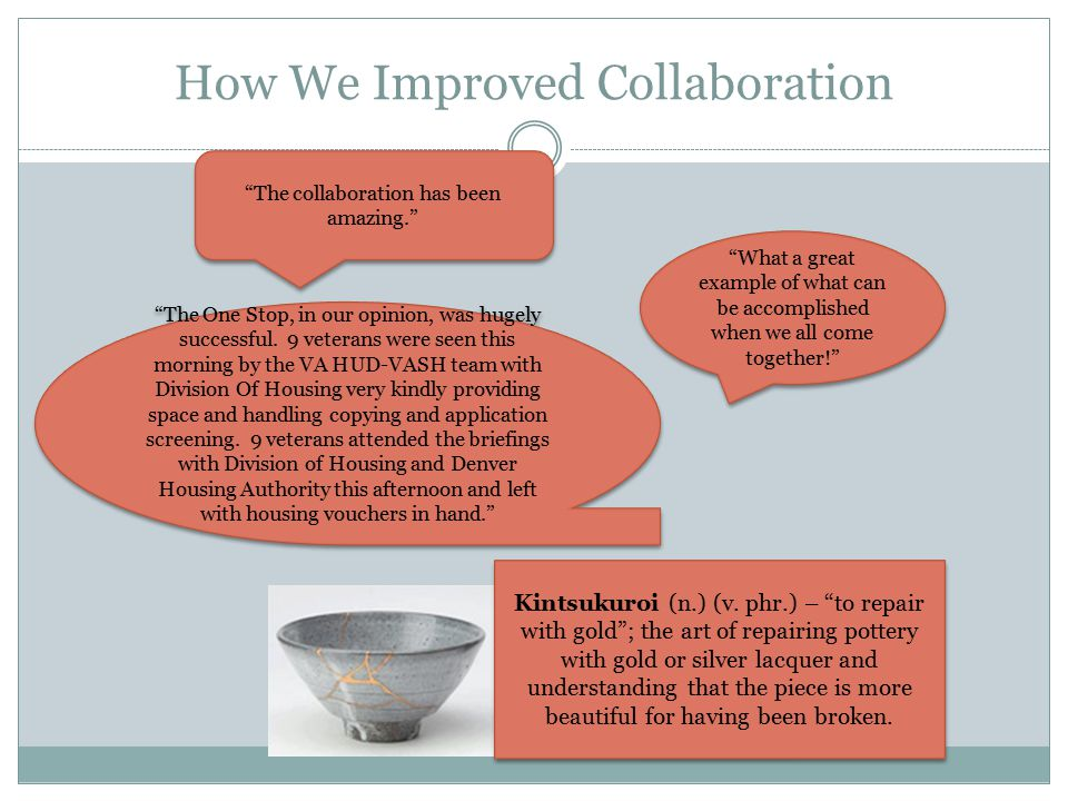 How We Improved Collaboration