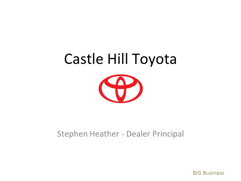 Stephen Heather - Dealer Principal