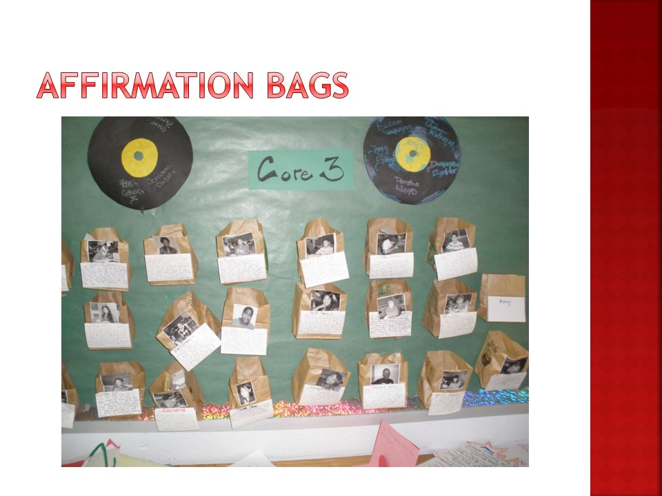 Affirmation Bags