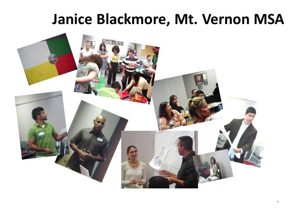 Janice Blackmore, Mt. Vernon MSA
