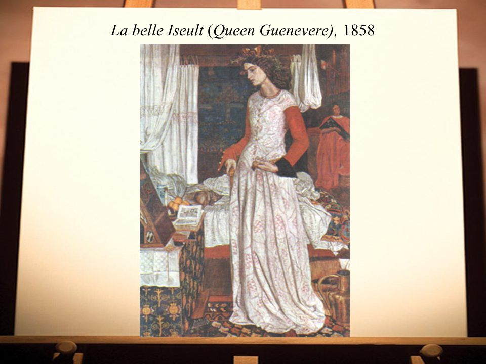 La belle Iseult (Queen Guenevere), 1858