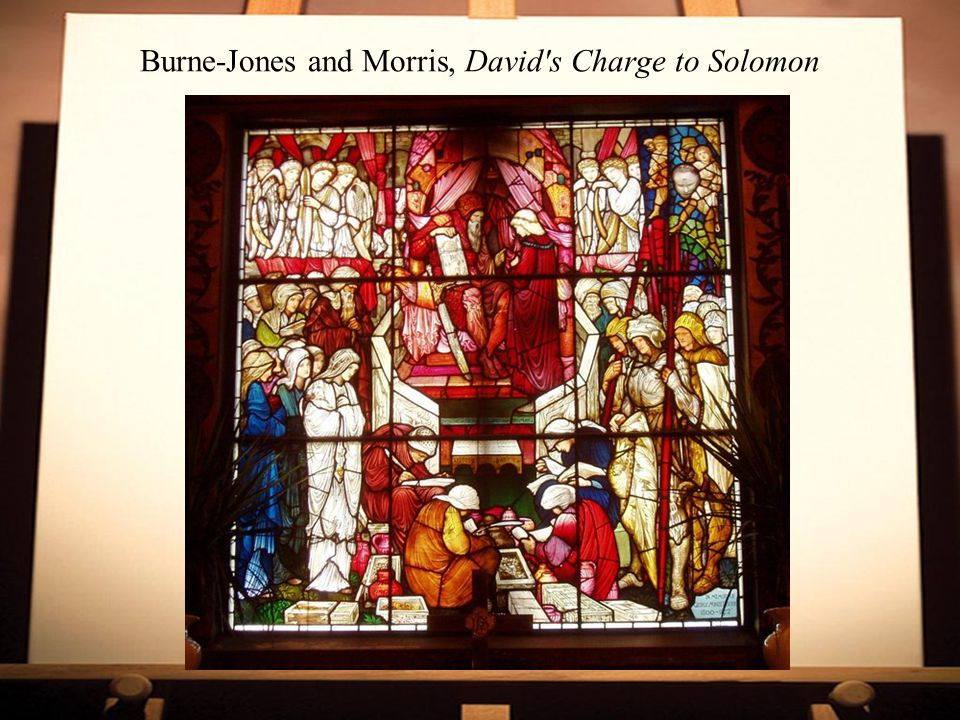 Burne-Jones and Morris, David s Charge to Solomon