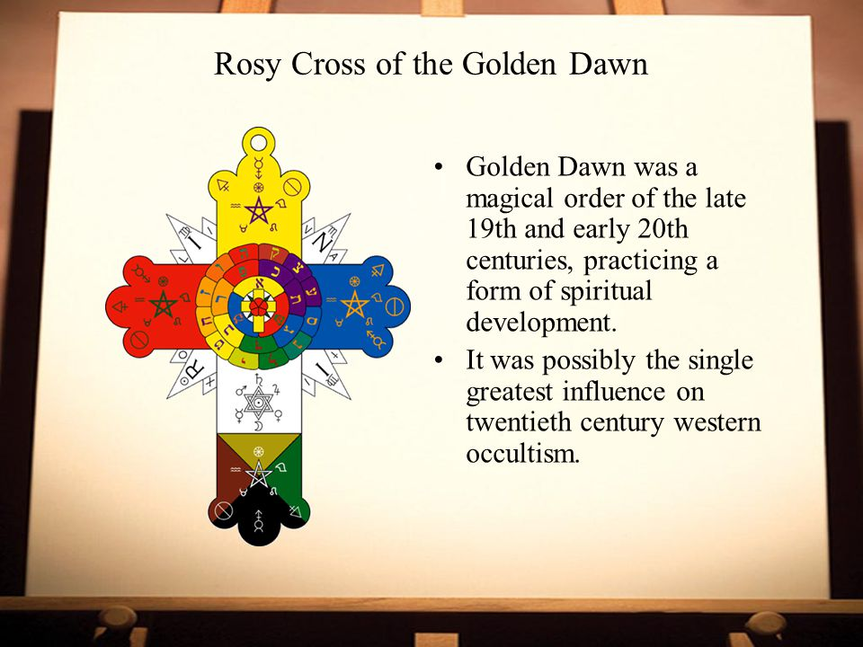 Rosy Cross of the Golden Dawn