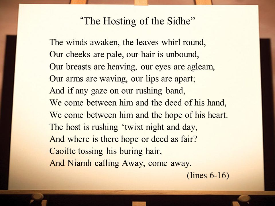 The Hosting of the Sidhe