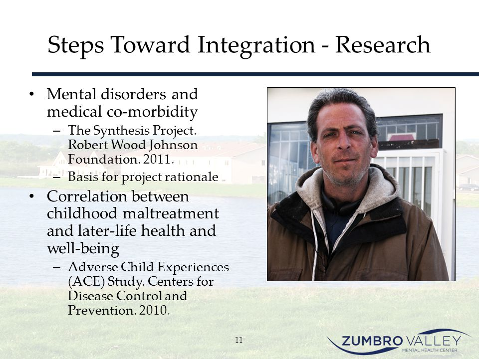 Steps Toward Integration - Research