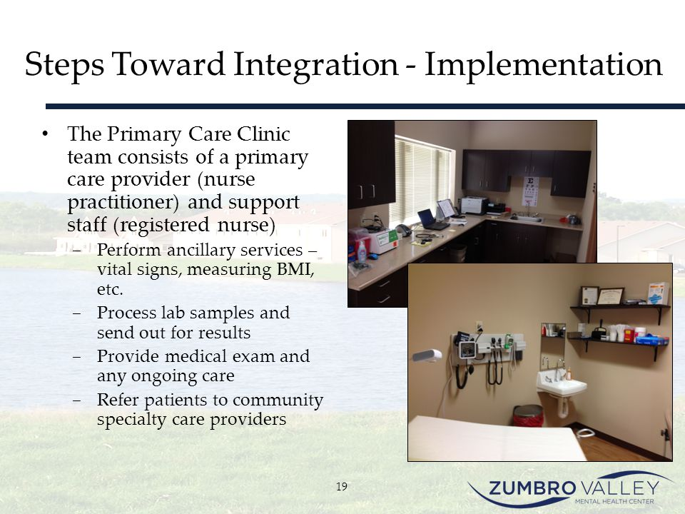 Steps Toward Integration - Implementation