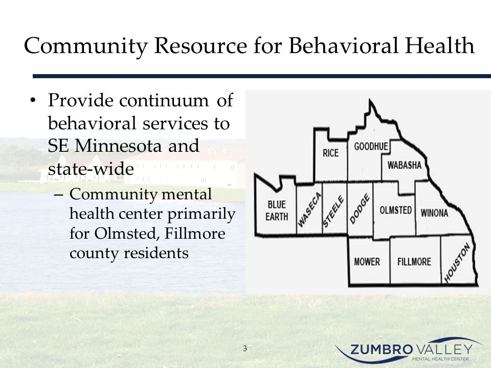 Community Resource for Behavioral Health