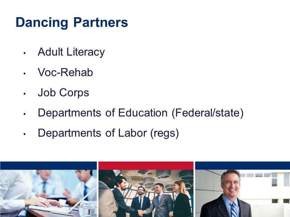 Dancing Partners Adult Literacy Voc-Rehab Job Corps