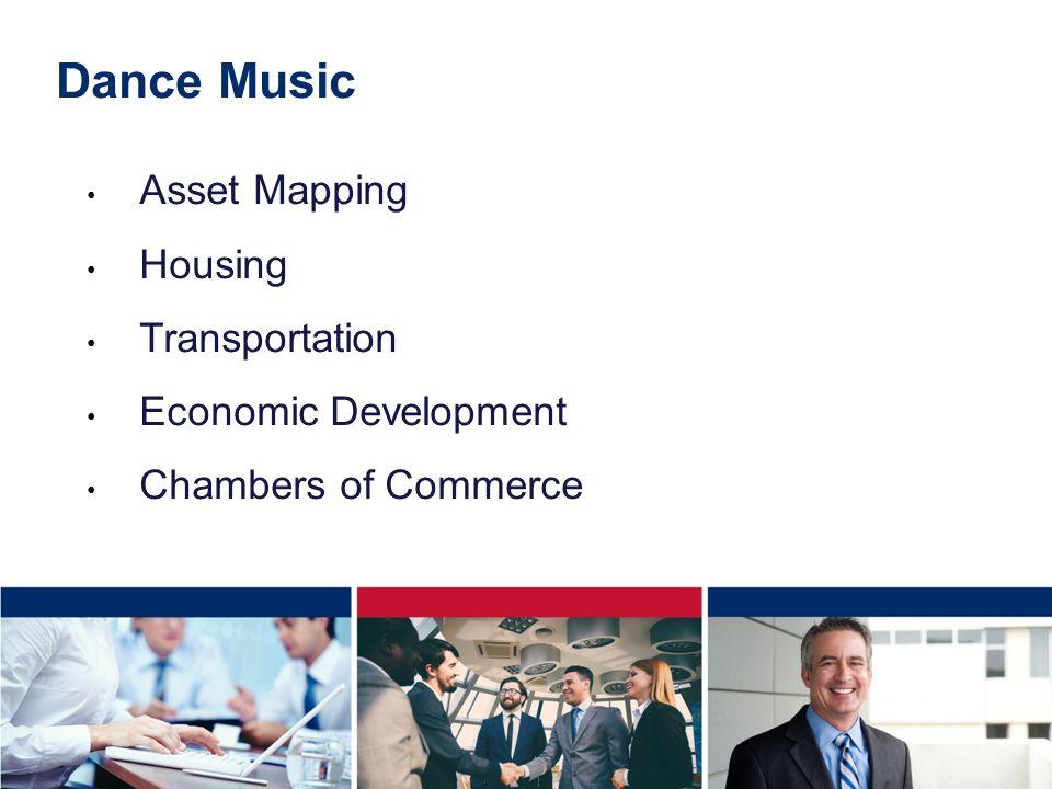 Dance Music Asset Mapping Housing Transportation Economic Development