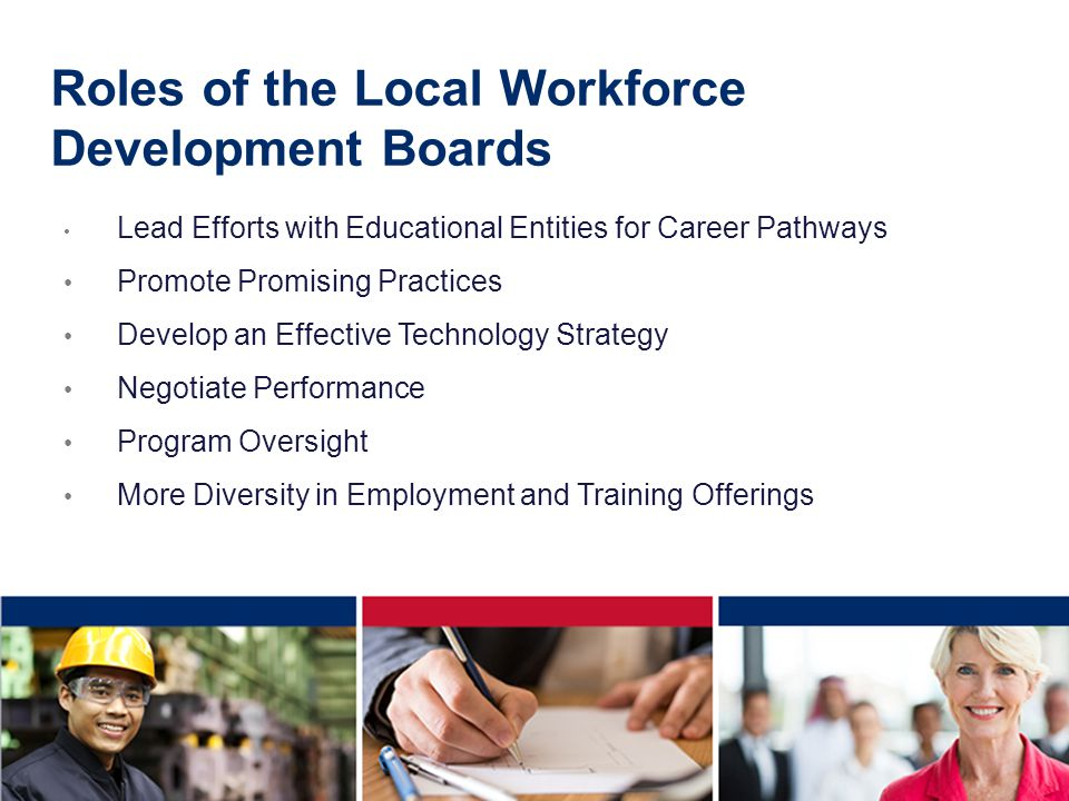 Roles of the Local Workforce Development Boards