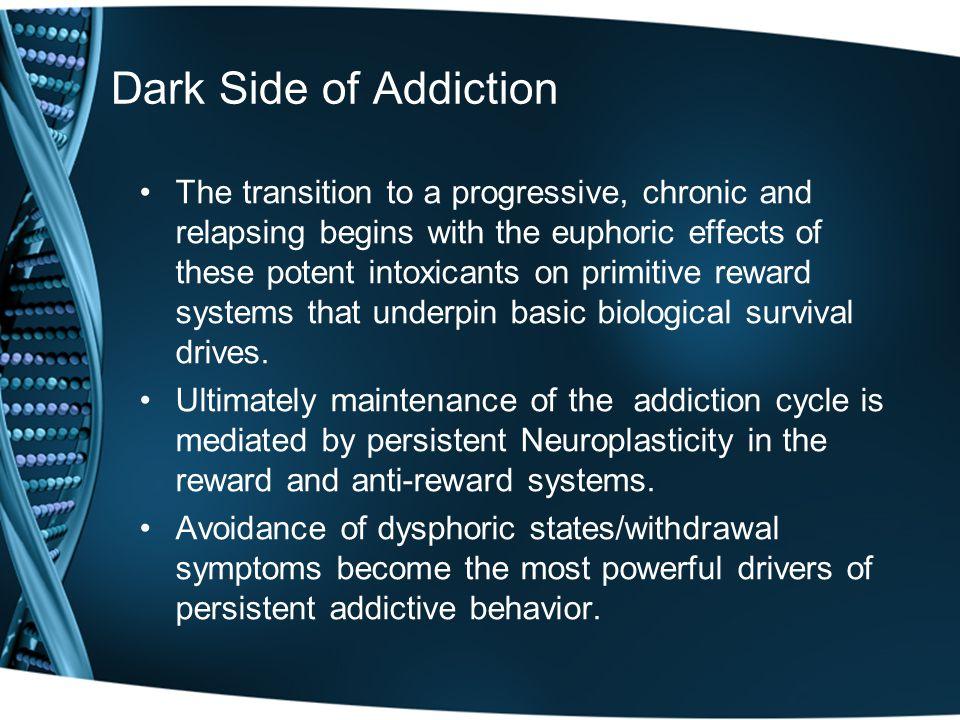 Dark Side of Addiction