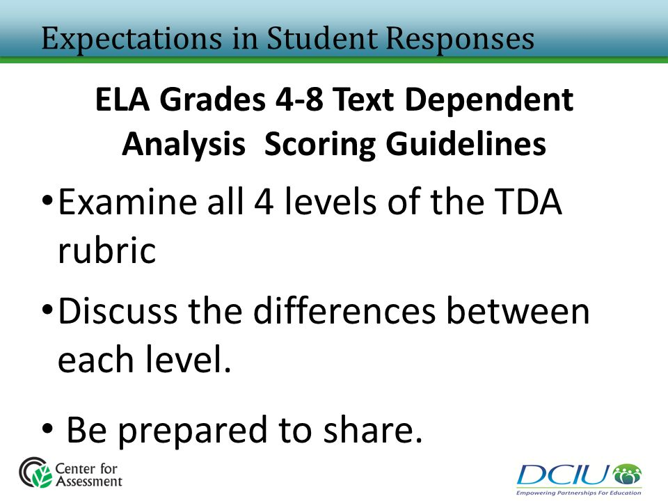 Expectations in Student Responses