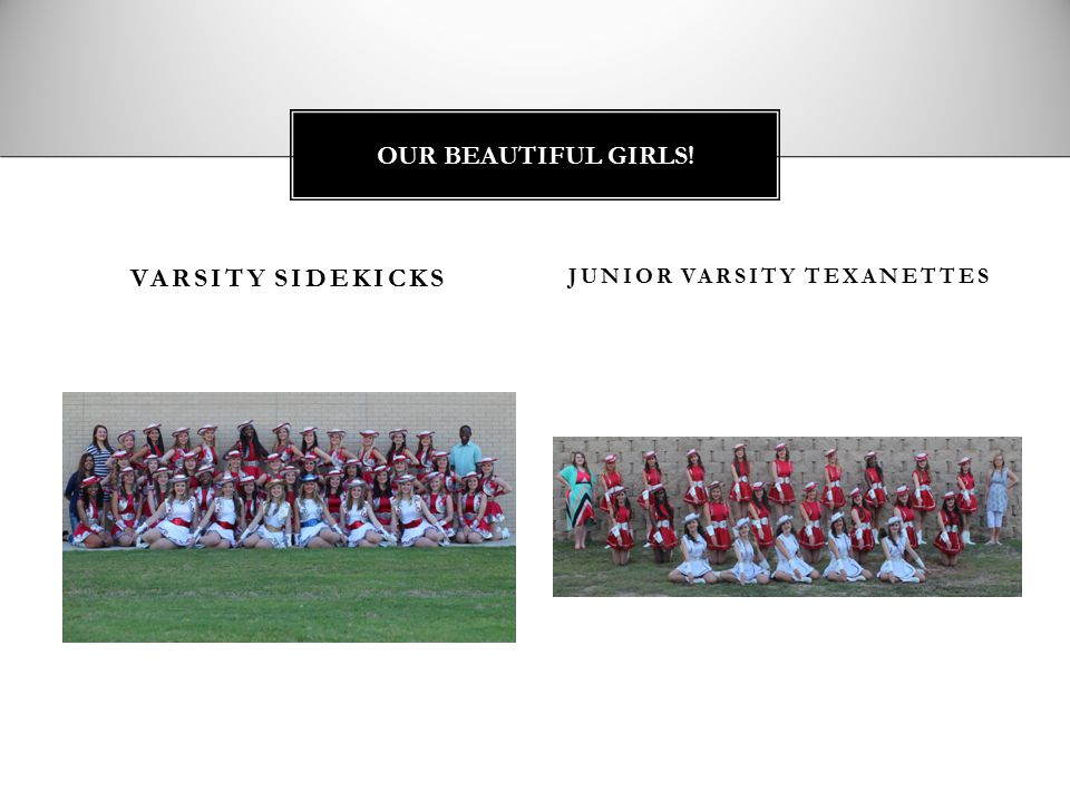 JUNIOR VARSITY TEXANETTES