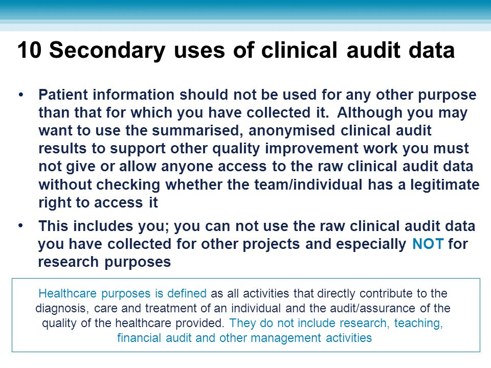financial audit and other management activities