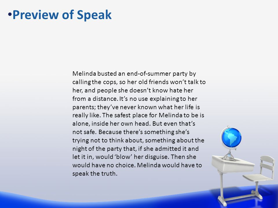 Preview of Speak