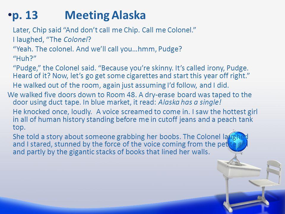 p. 13 Meeting Alaska