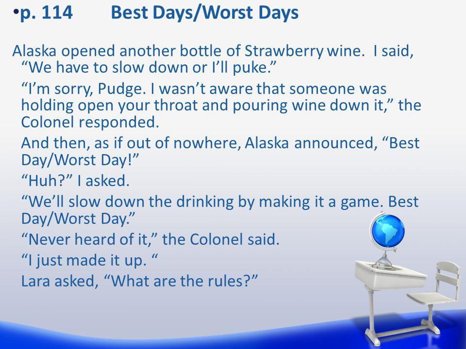 p. 114 Best Days/Worst Days