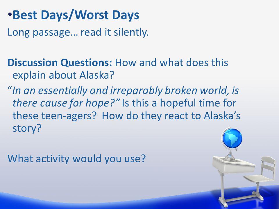 Best Days/Worst Days