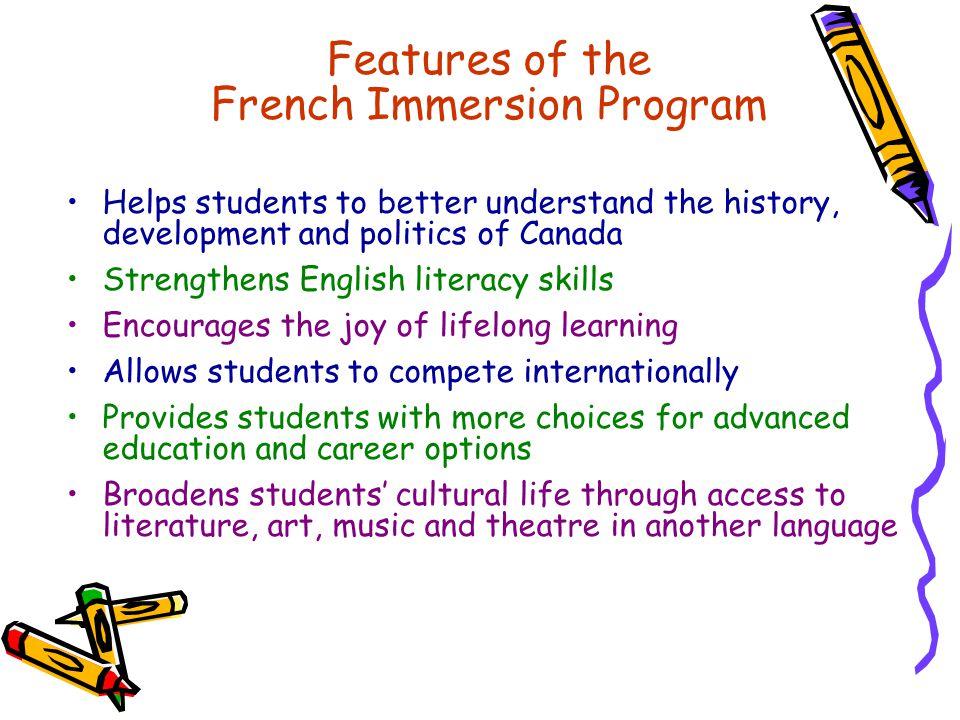 French Immersion Program