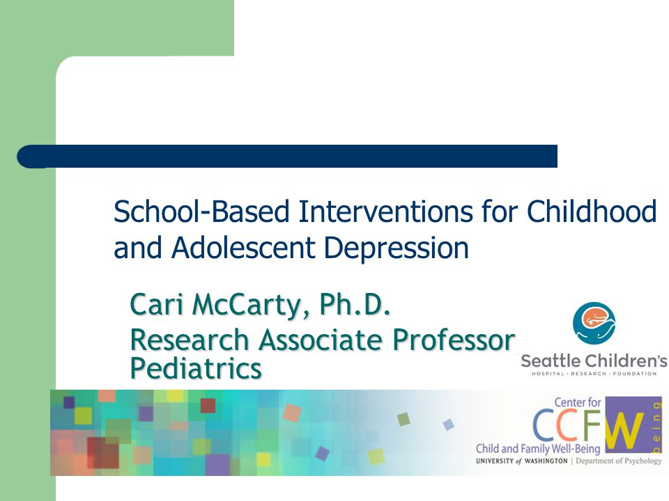School-Based Interventions for Childhood