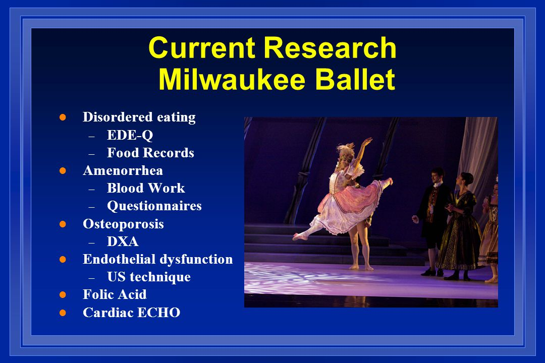 Current Research Milwaukee Ballet
