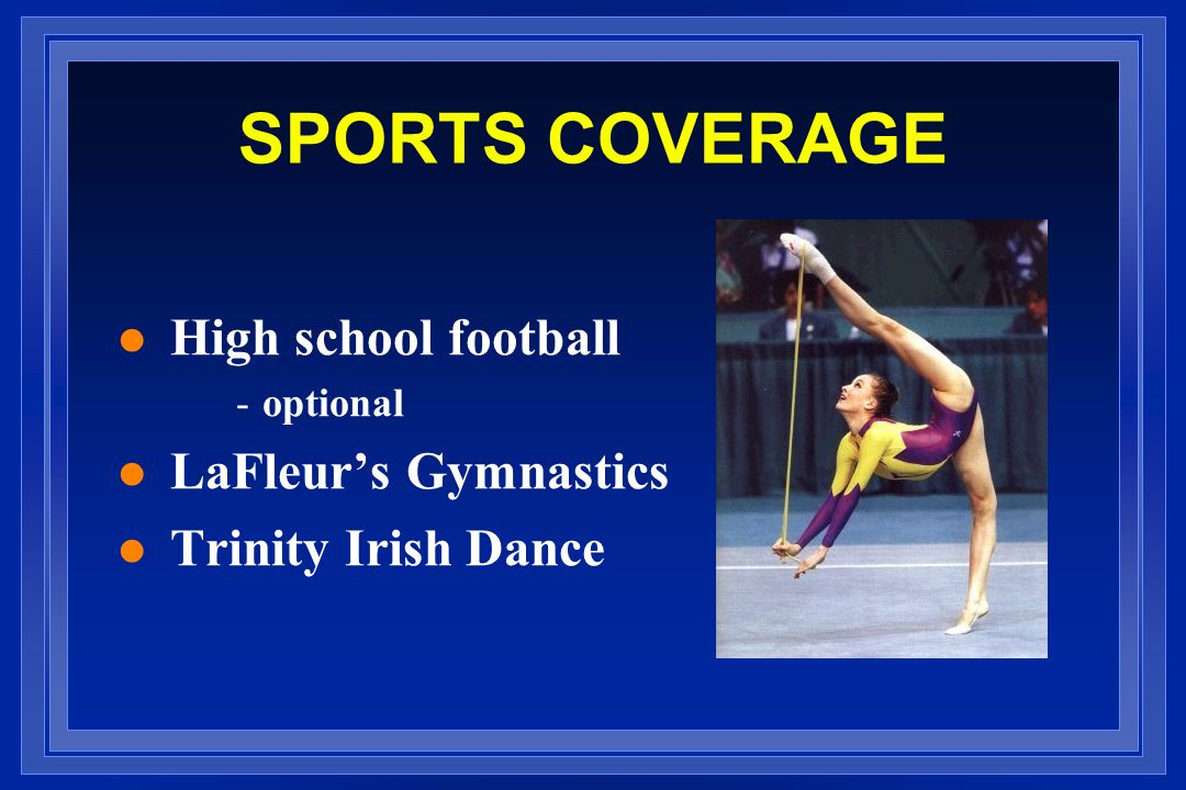 SPORTS COVERAGE High school football LaFleur's Gymnastics