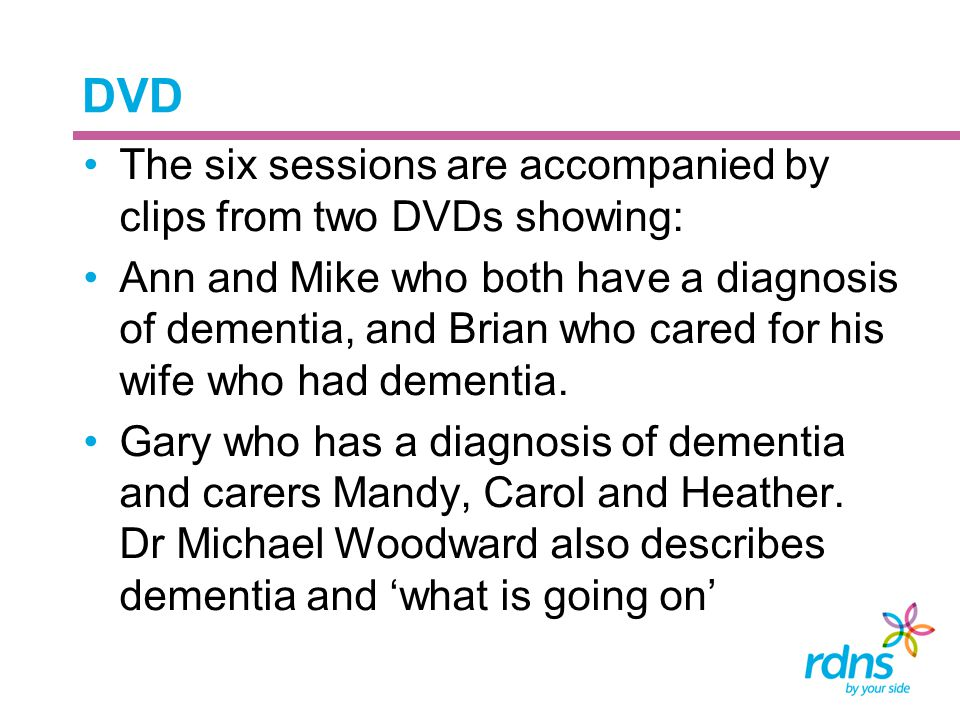 DVD The six sessions are accompanied by clips from two DVDs showing: