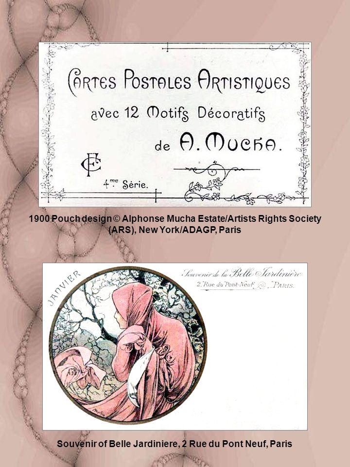 Souvenir of Belle Jardiniere, 2 Rue du Pont Neuf, Paris