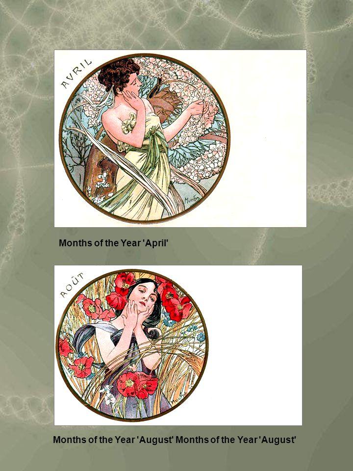 Months of the Year August Months of the Year August