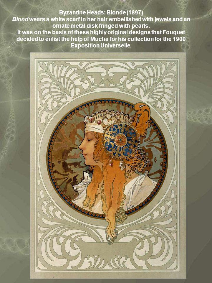 Byzantine Heads: Blonde (1897)