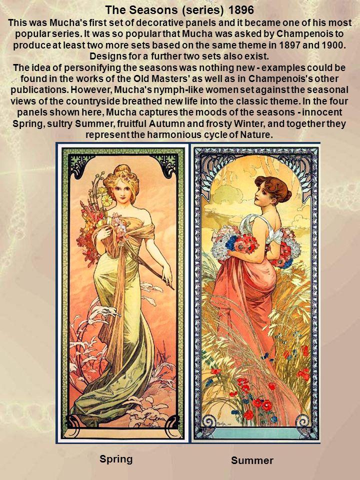 The Seasons (series) 1896 Spring Summer