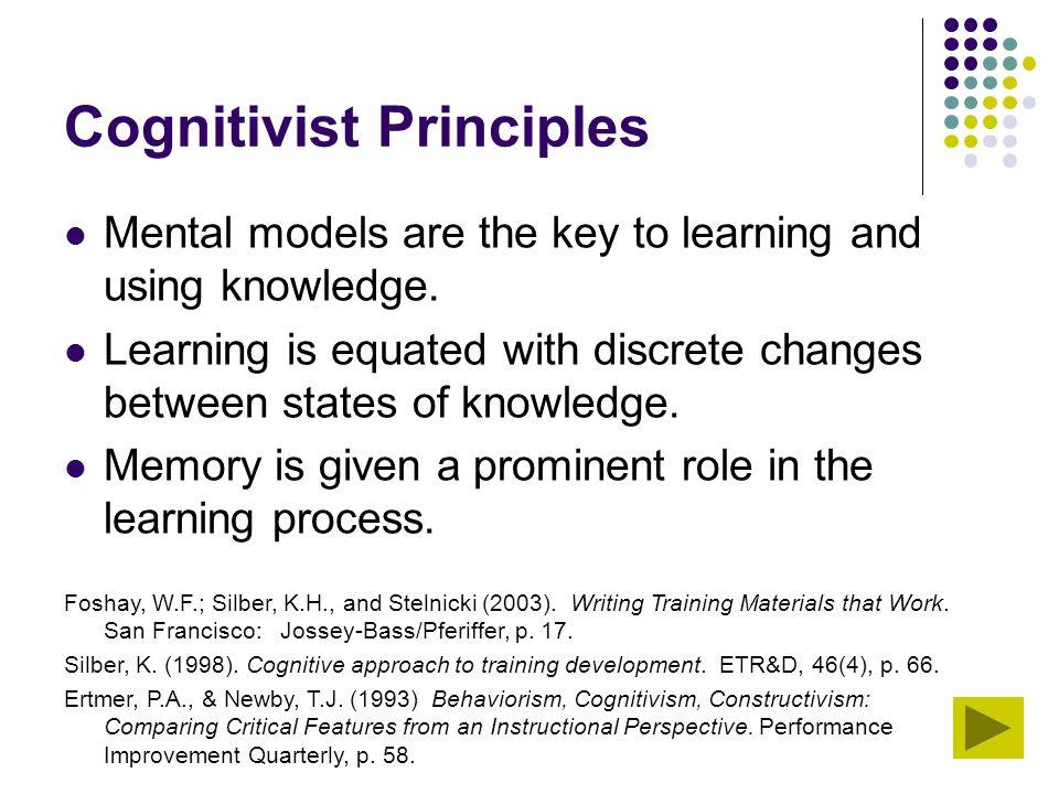 Cognitivist Principles